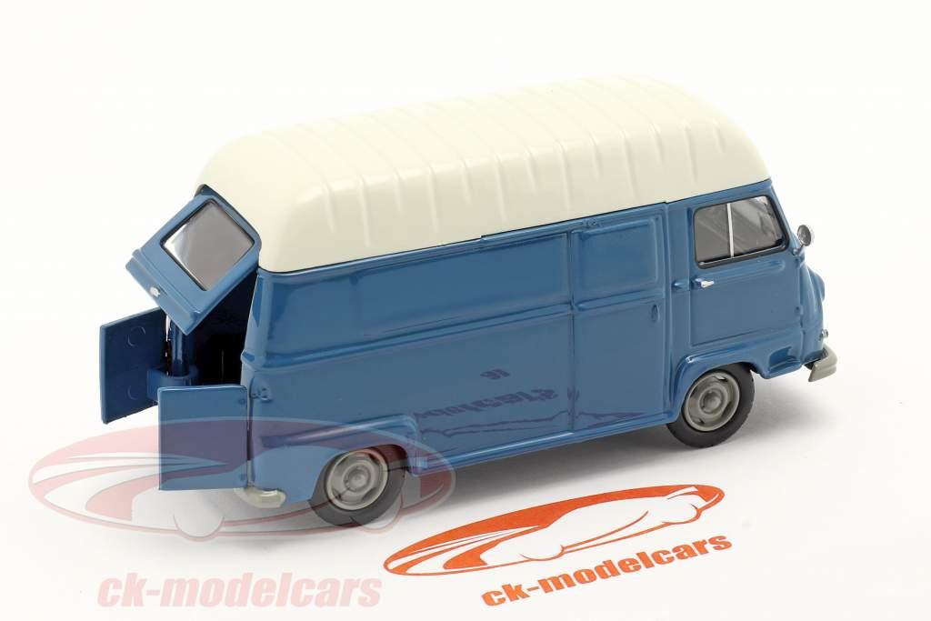 Renault Estafette Kleintransporter Baujahr 1959 blau / weiß 1:43 Norev