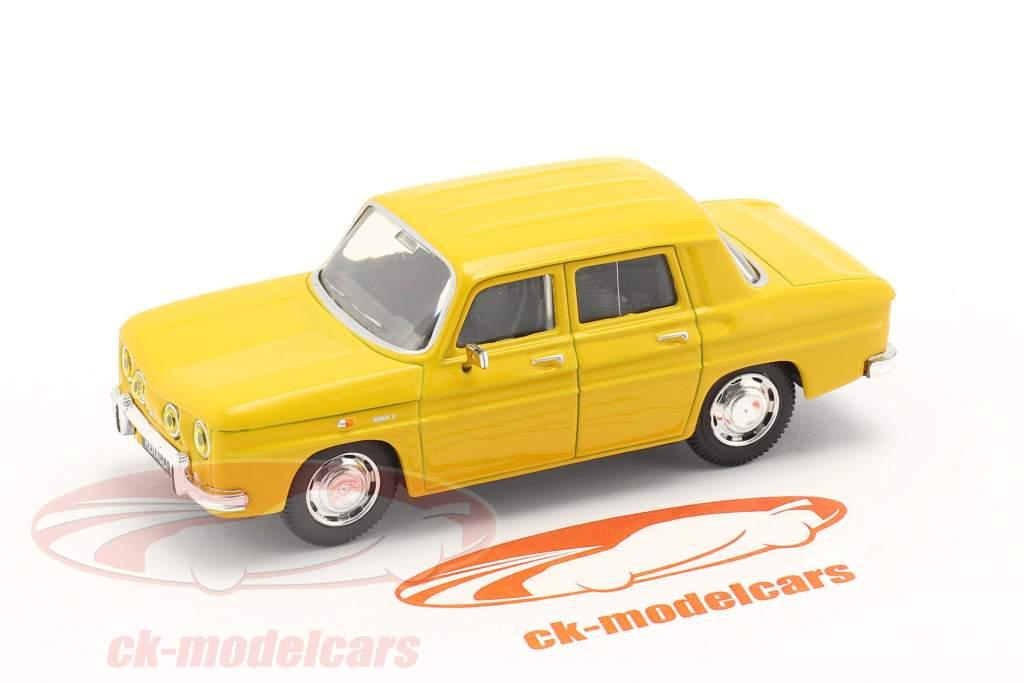 Renault 8 (R8) Ano de construção 1962 amarelo 1:43 Norev
