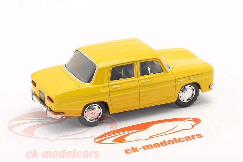 Renault 8 (R8) year 1962 yellow 1:43 Norev