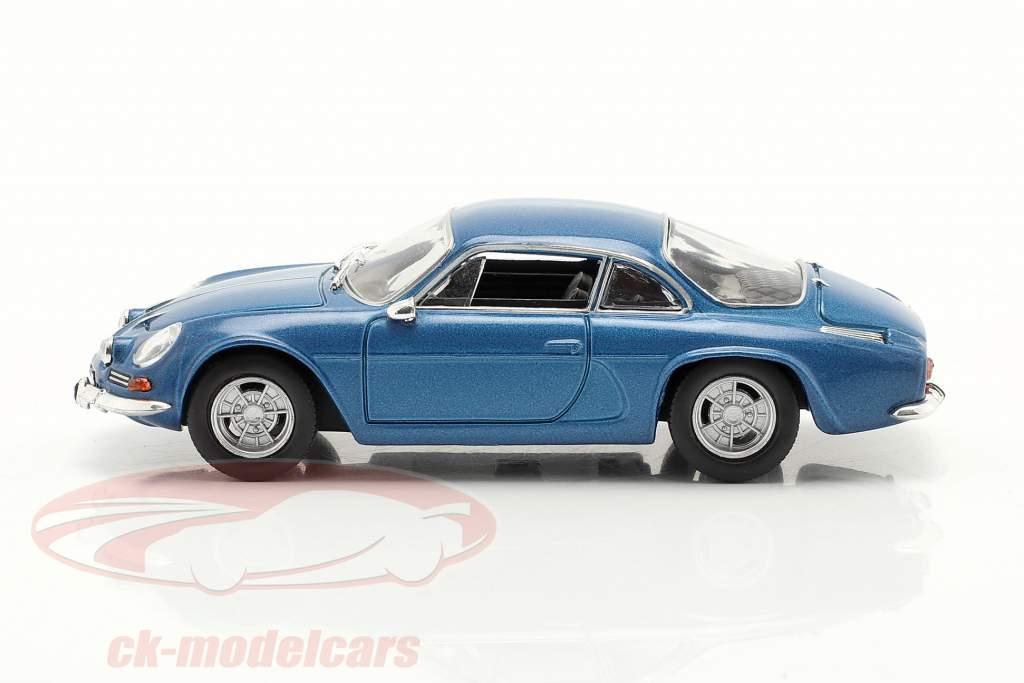 Renault Alpine A110 Año de construcción 1969 azul metálico 1:43 Norev