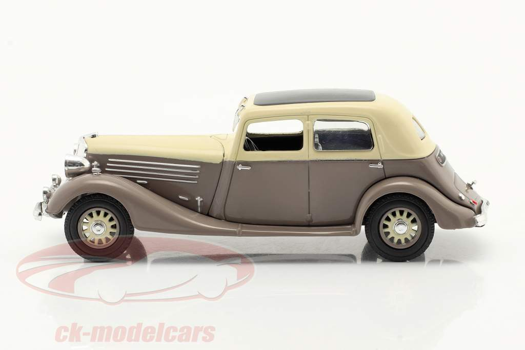 Renault Nervasport year 1932-1935 brown / beige 1:43 Norev