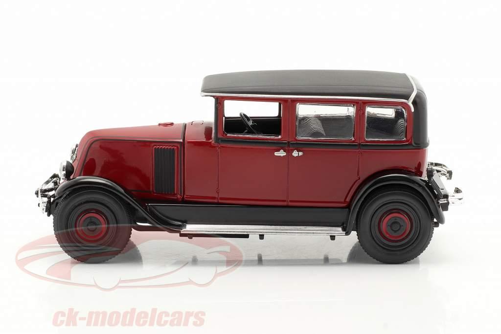 Renault Vivasix Type PG2 Byggeår 1928 Rød / sort 1:43 Norev
