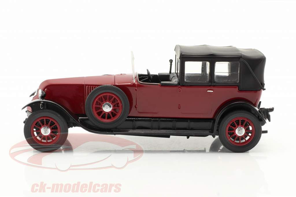 Renault 40 CV MC bouwjaar 1923-1923 rood / zwart 1:43 Norev