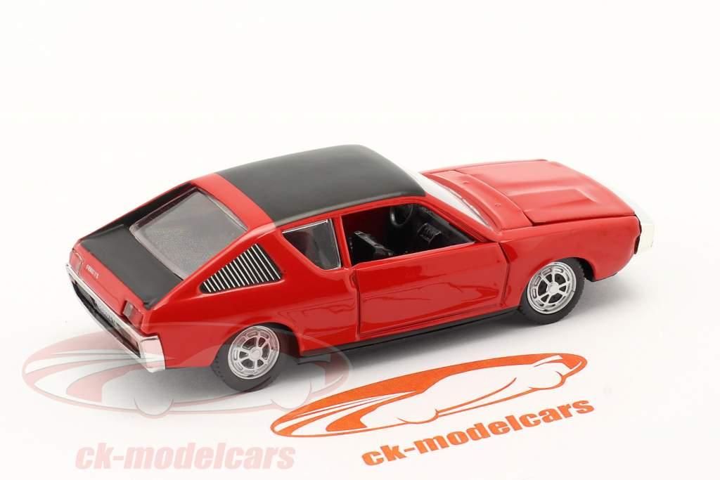 Renault 17 (R17) Baujahr 1971-1979 rot / schwarz 1:43 Norev
