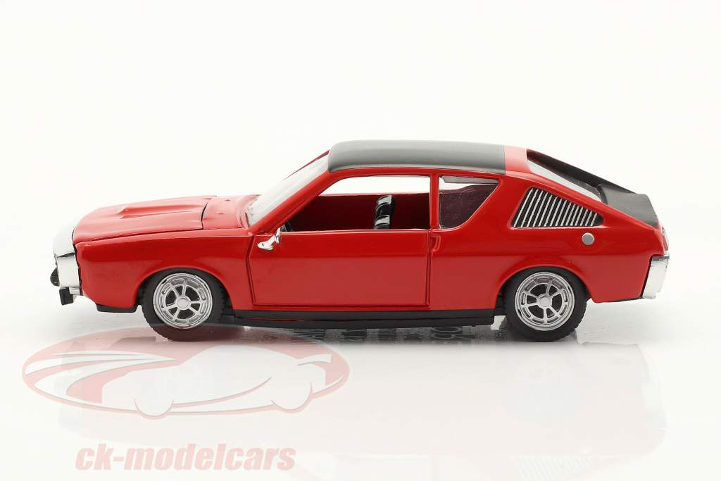 Renault 17 (R17) bouwjaar 1971-1979 rood / zwart 1:43 Norev