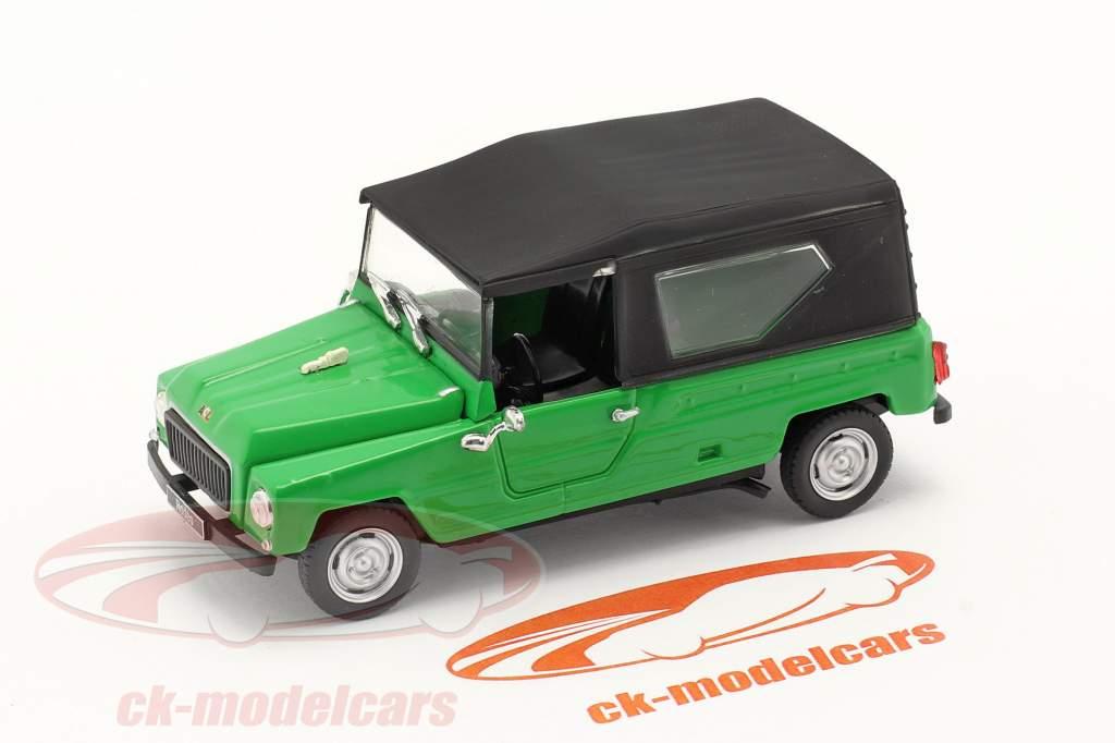 Renault Rodeo Byggeår 1975 grøn / sort 1:43 Norev