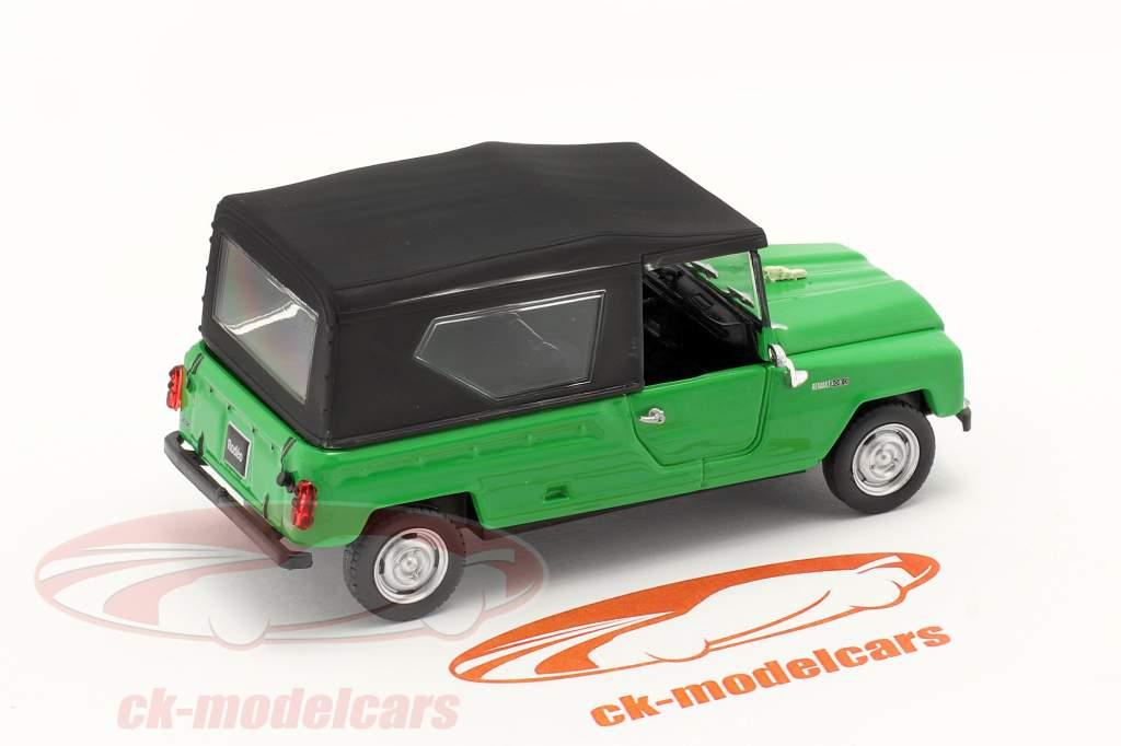 Renault Rodeo Año de construcción 1975 verde / negro 1:43 Norev