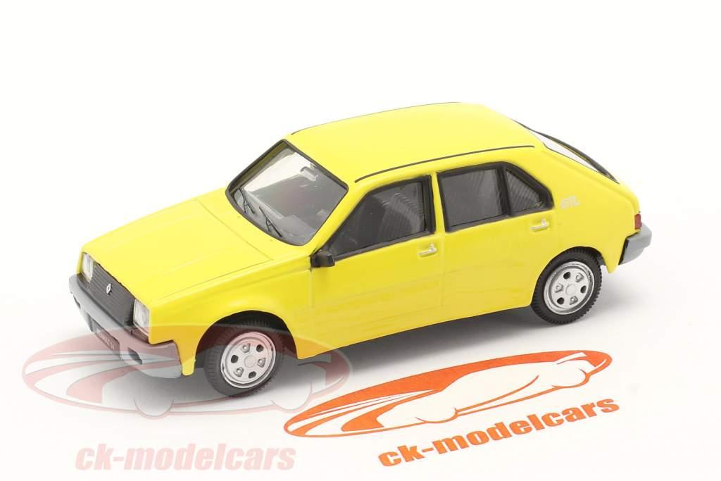 Renault 14 (R14) Año de construcción 1976-1982 amarillo 1:43 Norev
