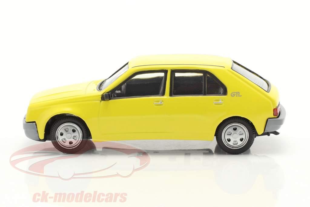 Renault 14 (R14) year 1976-1982 yellow 1:43 Norev
