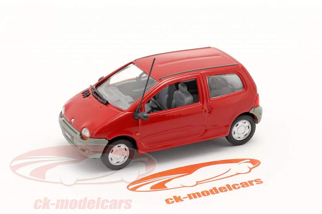 Renault Twingo bouwjaar 1993 rood 1:43 Norev
