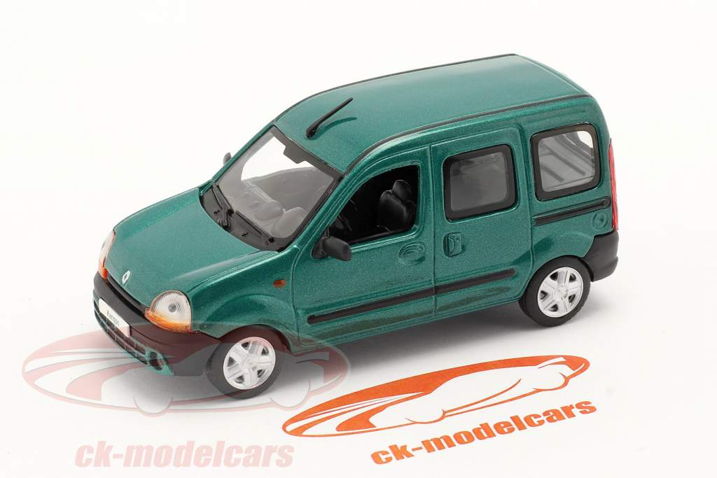 Renault Kangoo Año de construcción 1997 verde metálico 1:43 Norev