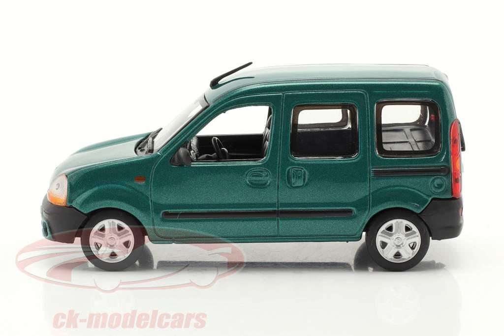 Renault Kangoo 建设年份 1997 绿色 金属的 1:43 Norev