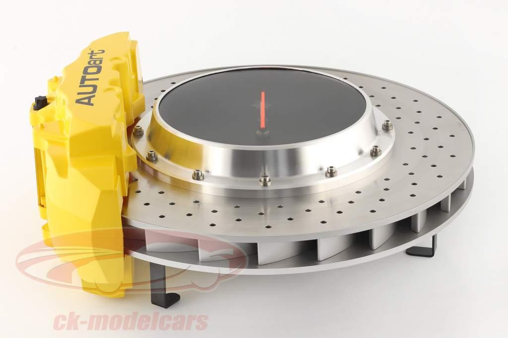 Disco de freno de carreras Reloj de escritorio AUTOart