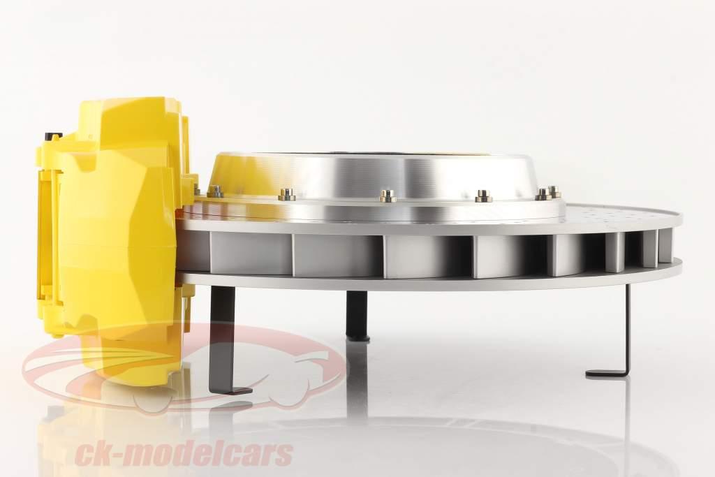 Racing brake disc desk clock AUTOart