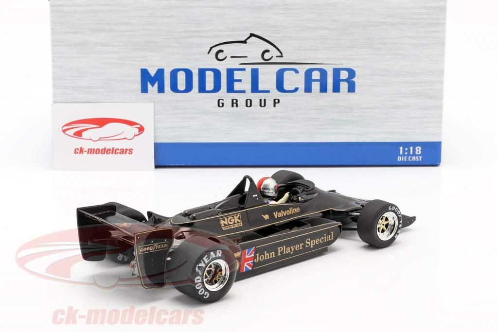 Mario Andretti Lotus 79 #5 Champion du monde la Belgique GP F1 1978 1:18 Model Car Group
