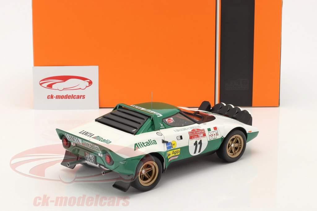 Lancia Stratos HF #11 Winner Rally San Remo 1975 Waldegard,Thorszelius 1:18 Ixo
