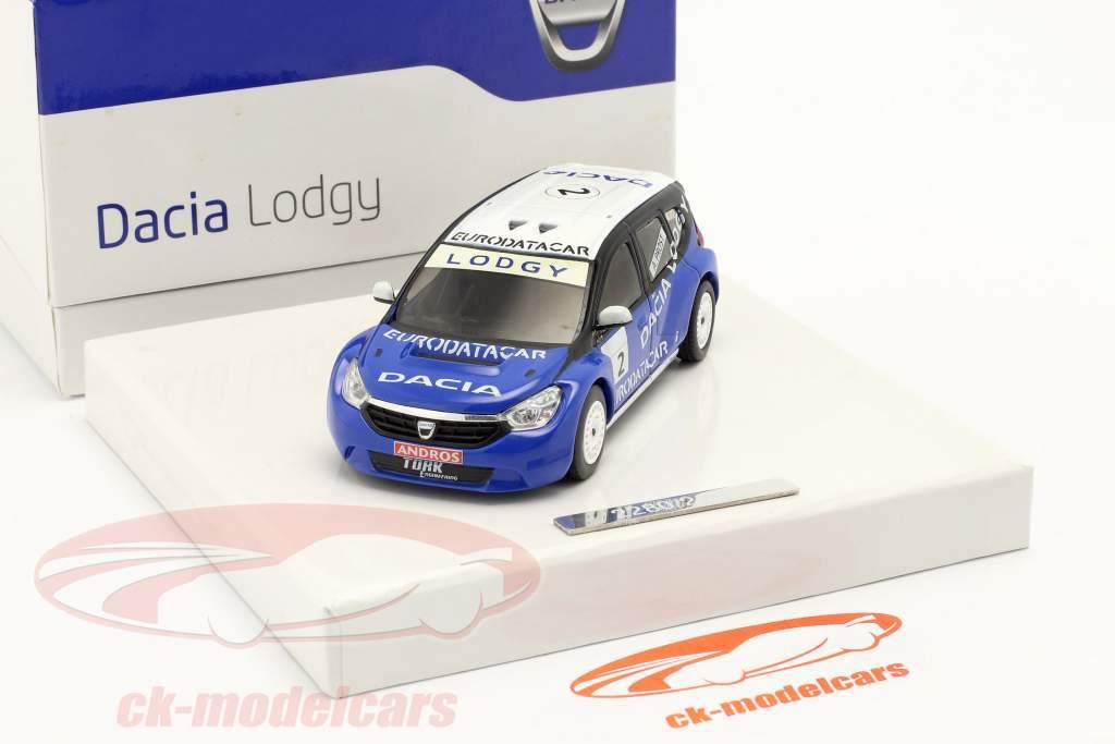 Dacia Lodgy #2 Winnaar Andros Trophy 2011/2012 Alain Prost 1:43 Eligor