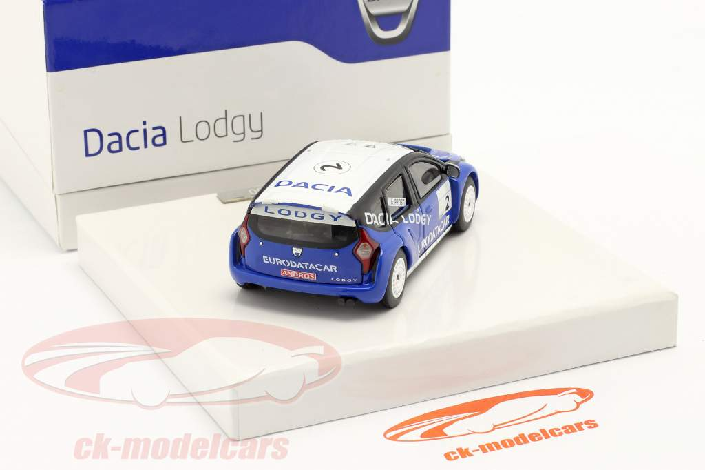 Dacia Lodgy #2 Gagnant Andros Trophy 2011/2012 Alain Prost 1:43 Eligor
