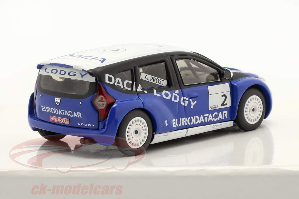 Dacia Lodgy #2 Vincitore Andros Trophy 2011/2012 Alain Prost 1:43 Eligor