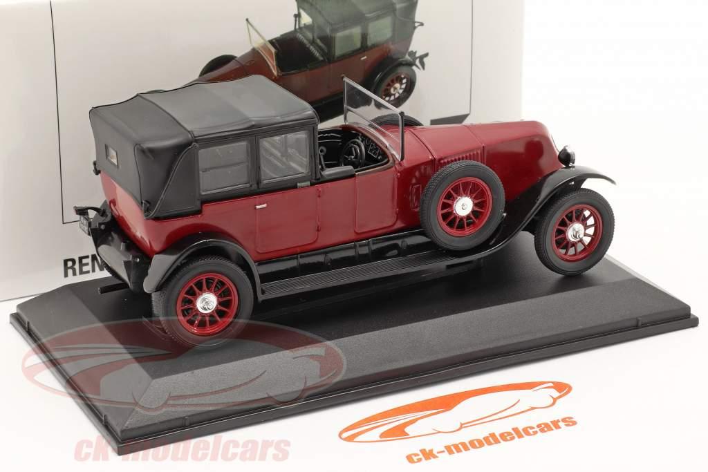 Renault 40 CV MC year 1923-1923 Red / black 1:43 Norev