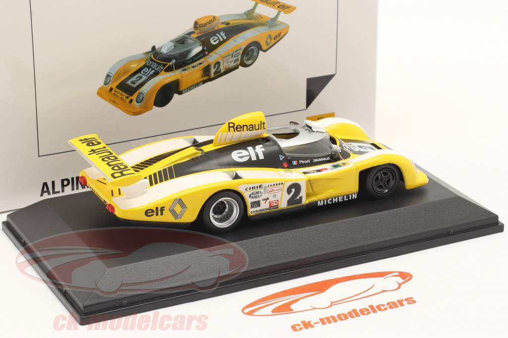 Renault Alpine A442B #2 勝者 24h LeMans 1978 Pironi, Jaussaud 1:43 Norev