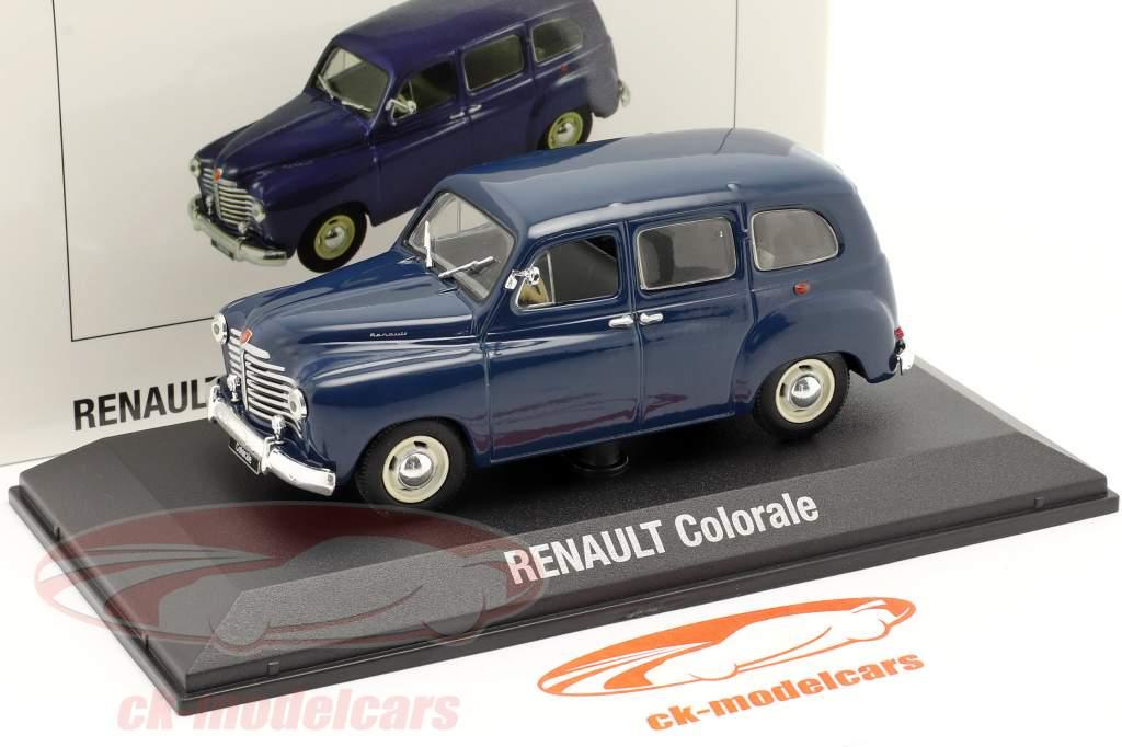 Renault Colorale bouwjaar 1950-1957 donkerblauw 1:43 Norev