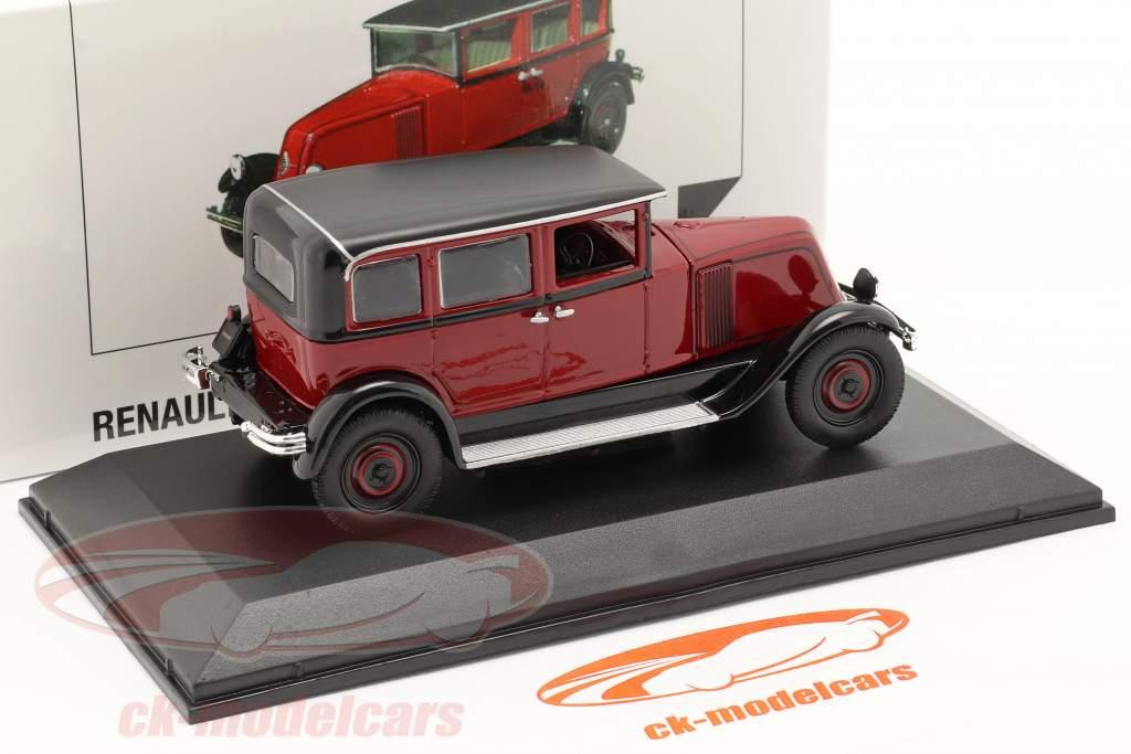 Renault Vivasix Type PG2 Ano de construção 1928 vermelho / Preto 1:43 Norev