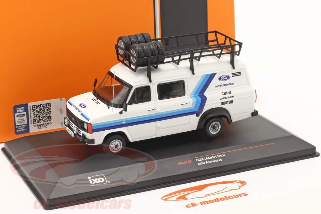 Ford Transit MK II Van 1979 Rallye Assistenza Ford Motorsport 1:43 Ixo