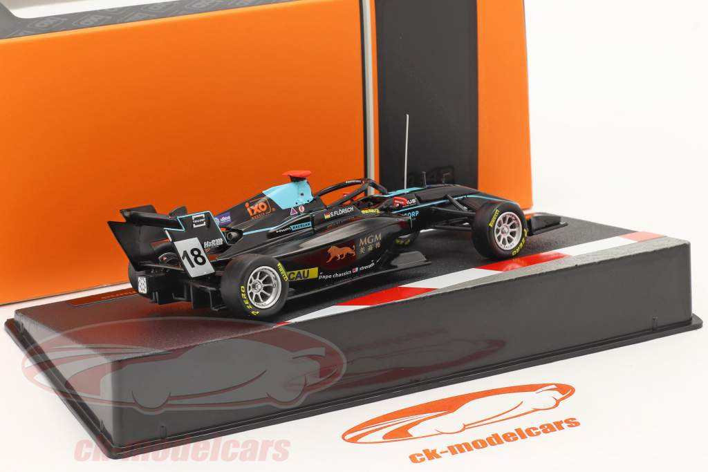 Sophia Flörsch Dallara F3 HWA Racelab #18 Macau GP formule 3 2019 1:43 Ixo