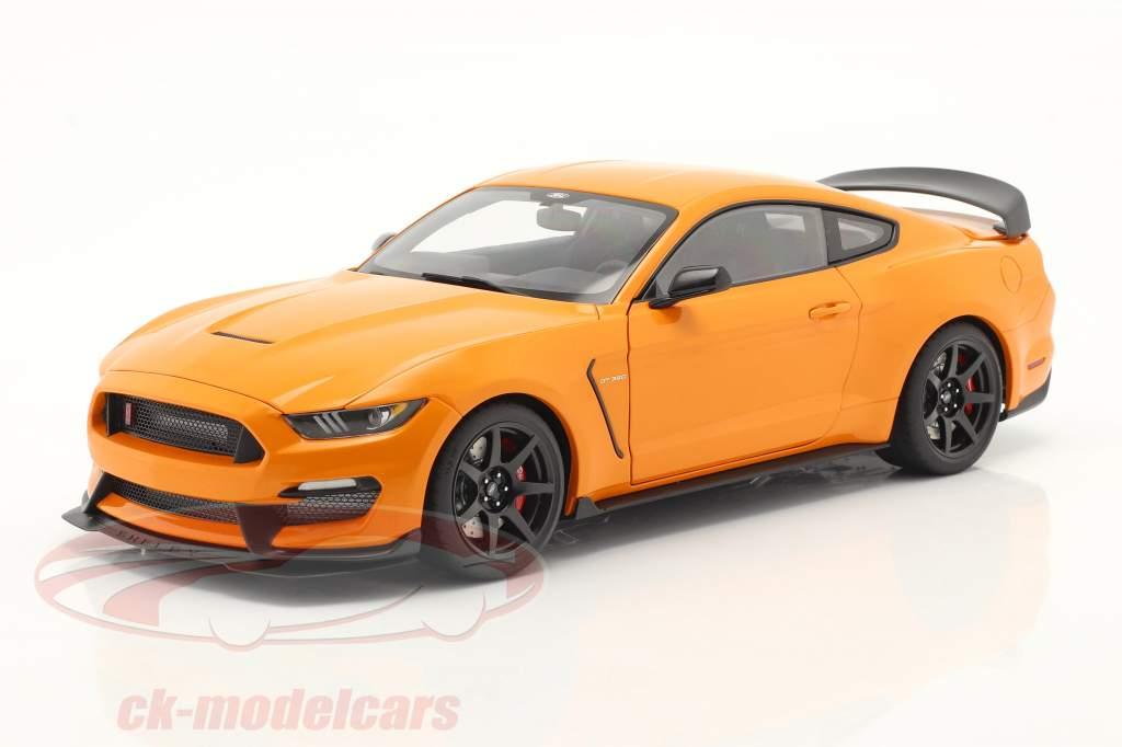 Ford Shelby GT-350R 建设年份 2017 橙色的 1:18 AUTOart