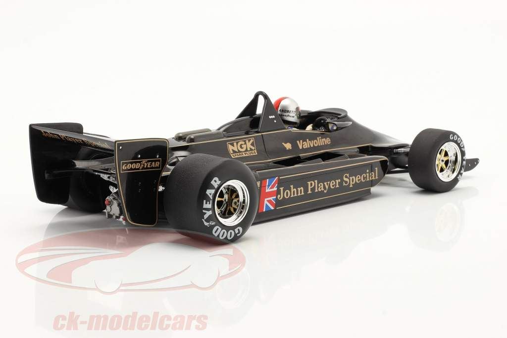 Mario Andretti Lotus 79 #5 Verdensmester Belgien GP F1 1978 1:18 Model Car Group