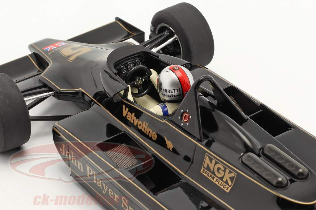 Mario Andretti Lotus 79 #5 World Champion Belgium GP F1 1978 1:18 Model Car Group