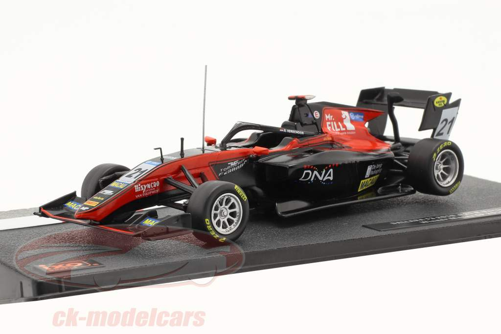 Richard Verschoor Dallara F3 MP Motorsport #21 Gagnant Macau GP F3 2019 1:43 Ixo