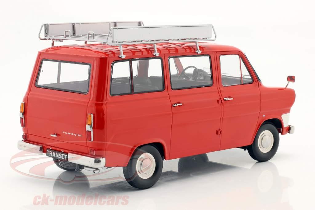 Ford Transit Bus Año de construcción 1965 rojo 1:18 KK-Scale
