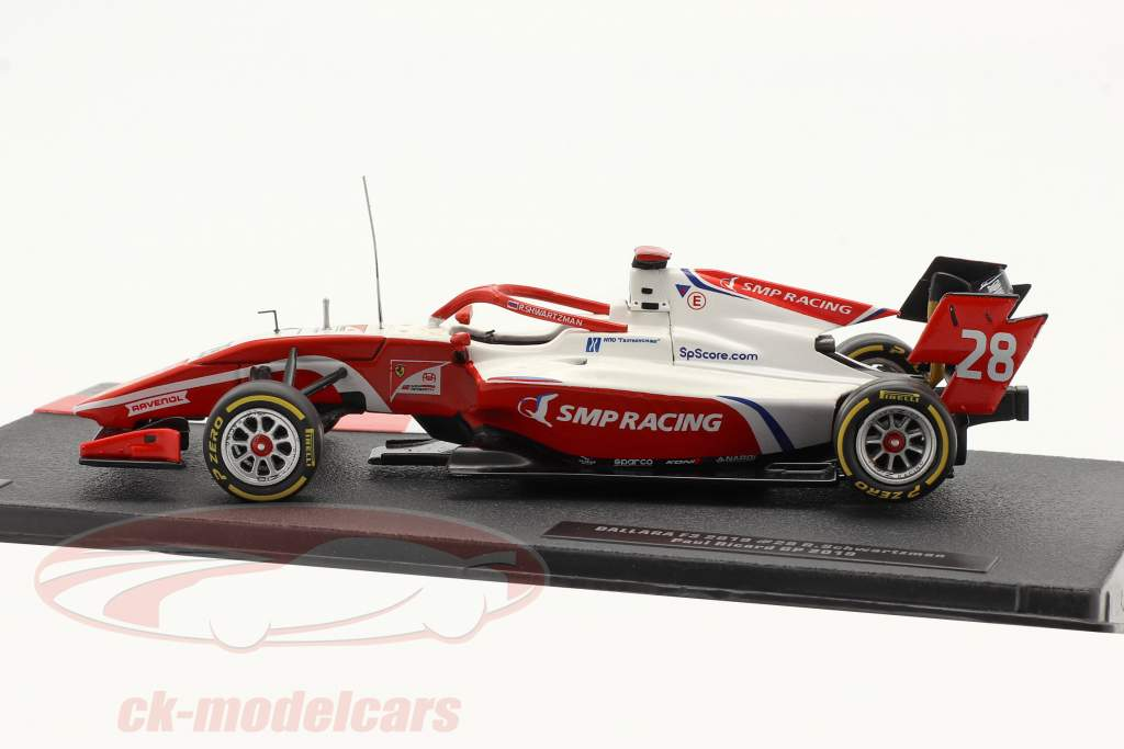 Robert Schwarzman Dallara F3 #28 campeão Circuit Paul Ricard F3 2019 1:43 Ixo