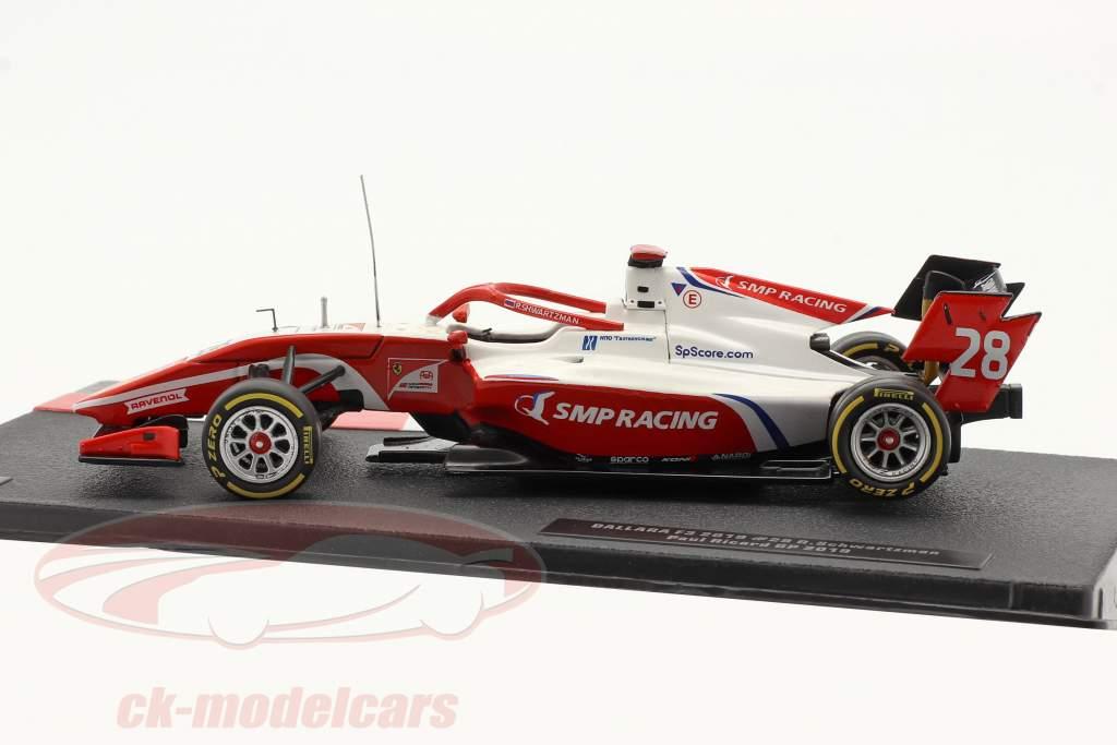 Robert Schwarzman Dallara F3 #28 campeón Circuit Paul Ricard F3 2019 1:43 Ixo