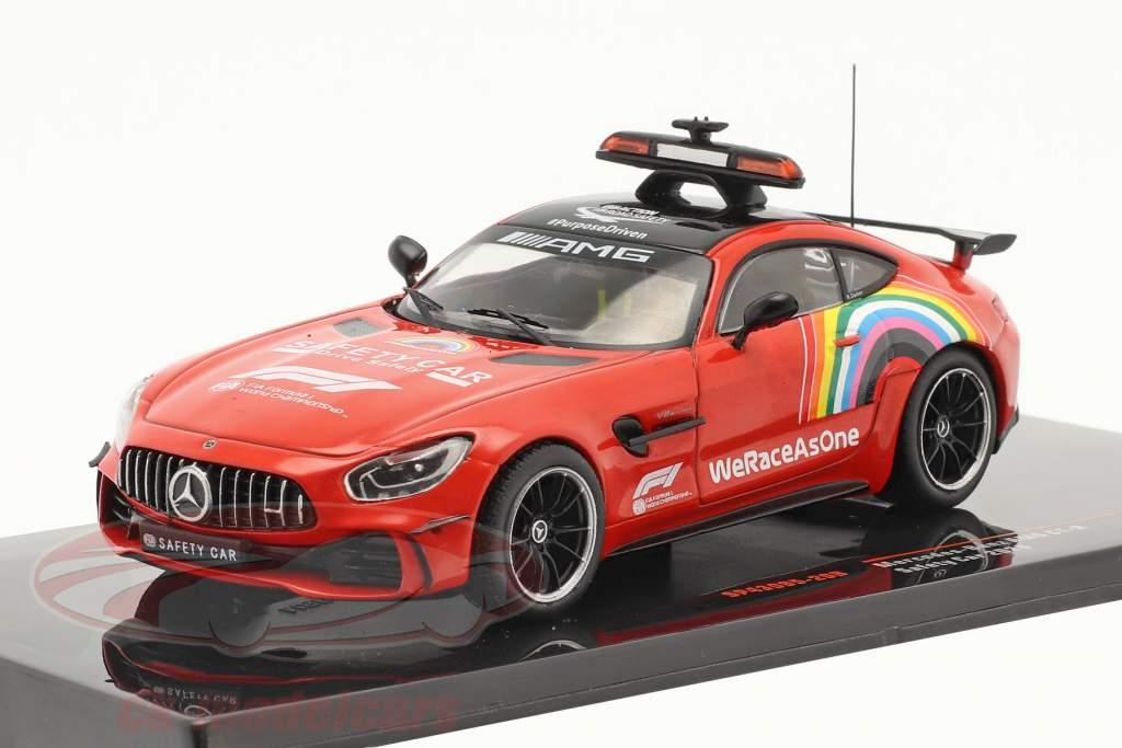2-Car Set: Mercedes-Benz AMG GT-R Safety Car formula 1 2020 1:43 Ixo