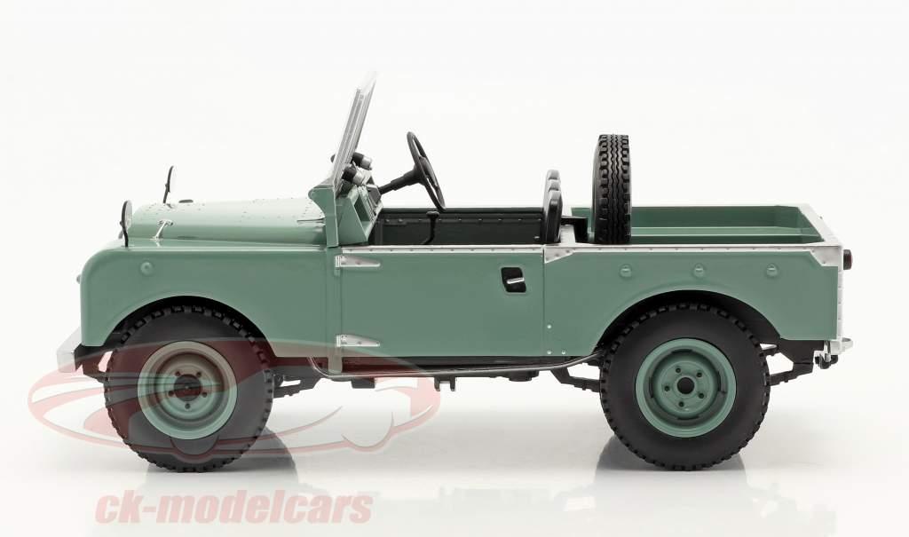 Land Rover Series I RHD senza Capote Anno di costruzione 1957 verde chiaro 1:18 Model Car Group