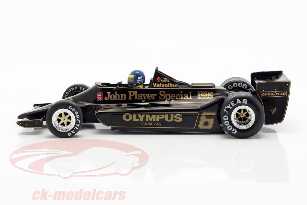 Ronnie Peterson Lotus 79 #6 Vencedora Áustria GP F1 1978 1:18 Model Car Group