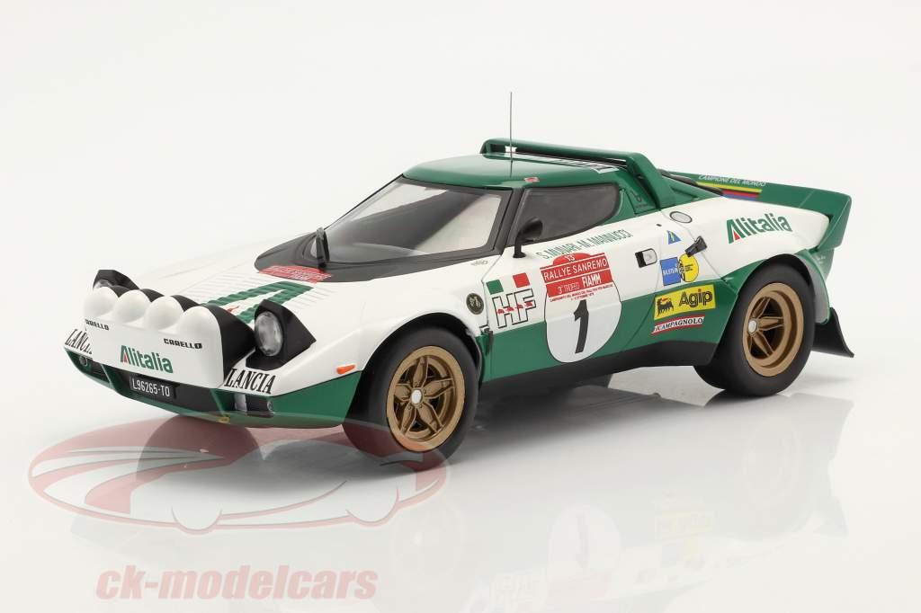 Lancia Stratos HF #1 Rallye San Remo 1975 Munari, Mannucci 1:18 Ixo