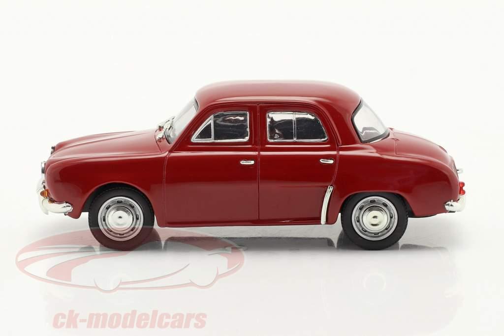 Renault Dauphine Byggeår 1956-1968 mørkerød 1:43 Norev