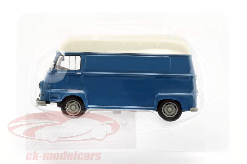 Renault Estafette bestelwagen bouwjaar 1959 blauw / wit 1:43 Norev