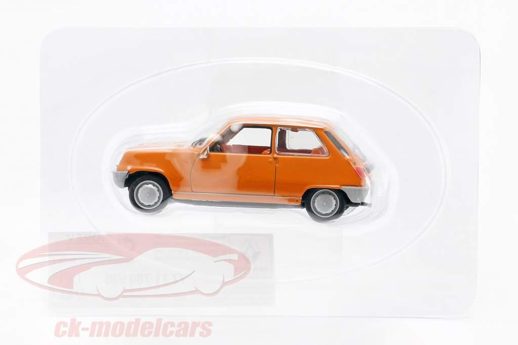 Renault 5 (R5) bouwjaar 1972 Oranje 1:43 Norev
