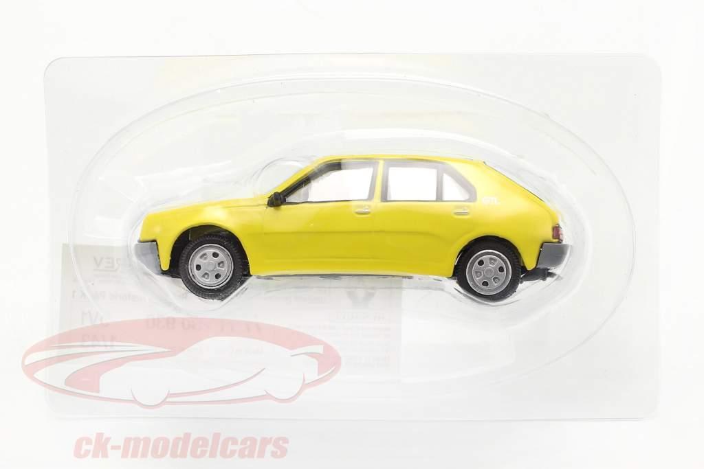 Renault 14 (R14) bouwjaar 1976-1982 geel 1:43 Norev