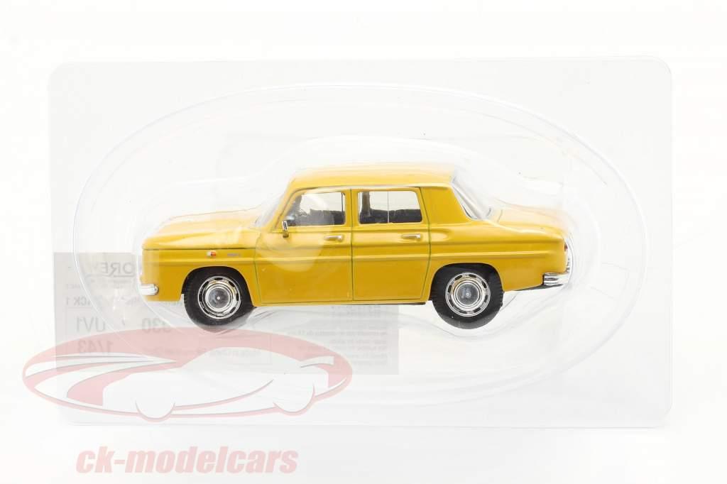 Renault 8 (R8) Baujahr 1962 gelb 1:43 Norev