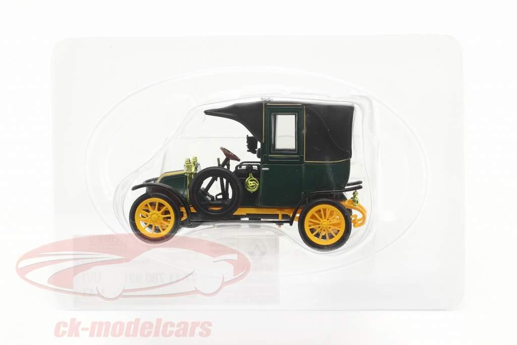 Renault Type AG Baujahr 1905-1914 grün / schwarz / gelb 1:43 Norev