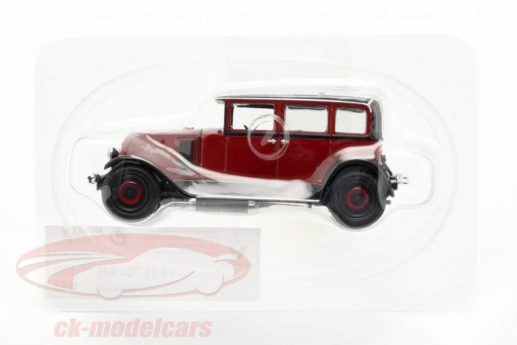 Renault Vivasix Type PG2 Année de construction 1928 rouge / le noir 1:43 Norev