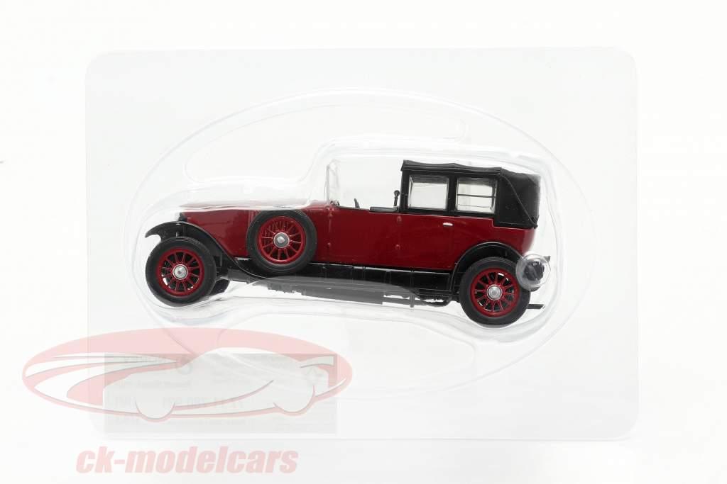 Renault 40 CV MC Ano de construção 1923-1923 vermelho / Preto 1:43 Norev