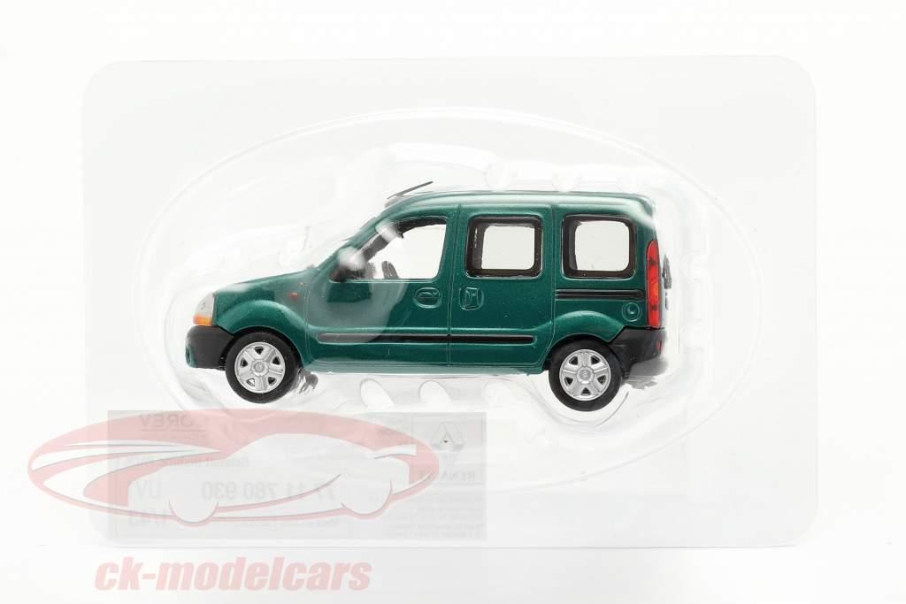 Renault Kangoo Ano de construção 1997 verde metálico 1:43 Norev