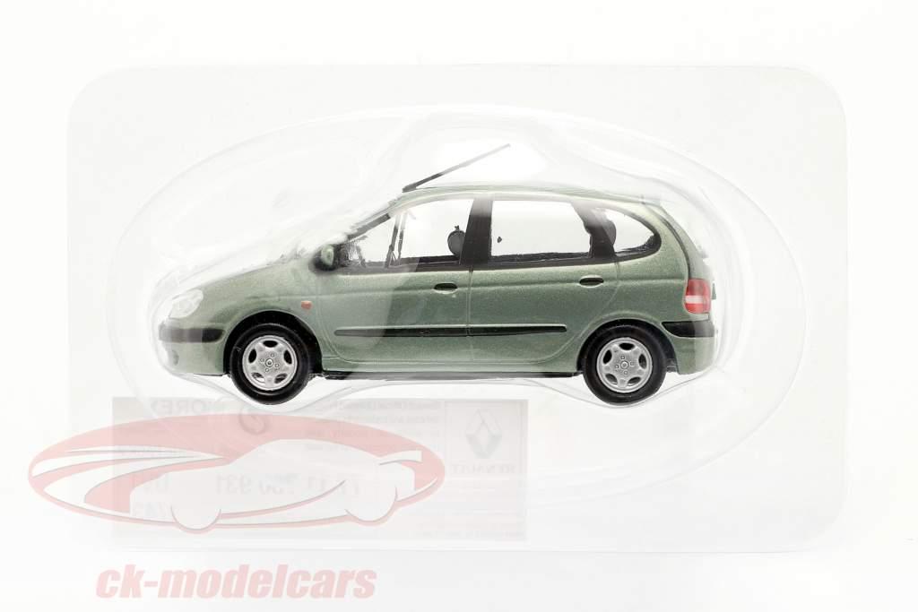 Renault Scenic bouwjaar 1999 groen grijs metalen 1:43 Norev